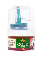 Крем-краска для обуви для гладкой кожи Gold Care 50 мл (цвет бордовый)