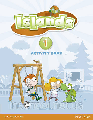 Islands Level 1 Activity Book plus pin code ISBN: 9781408289884, фото 2
