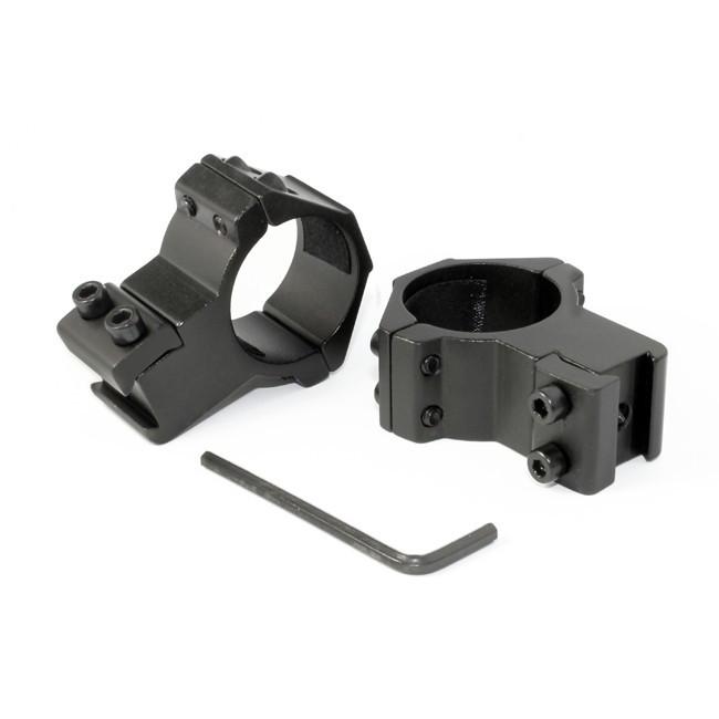 Крепление на оружие для фонаря 30mm Ring Double (Байонет 9 мм)
