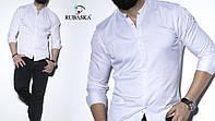 Чоловіча біла сорочка з довгим рукавом, фото 1