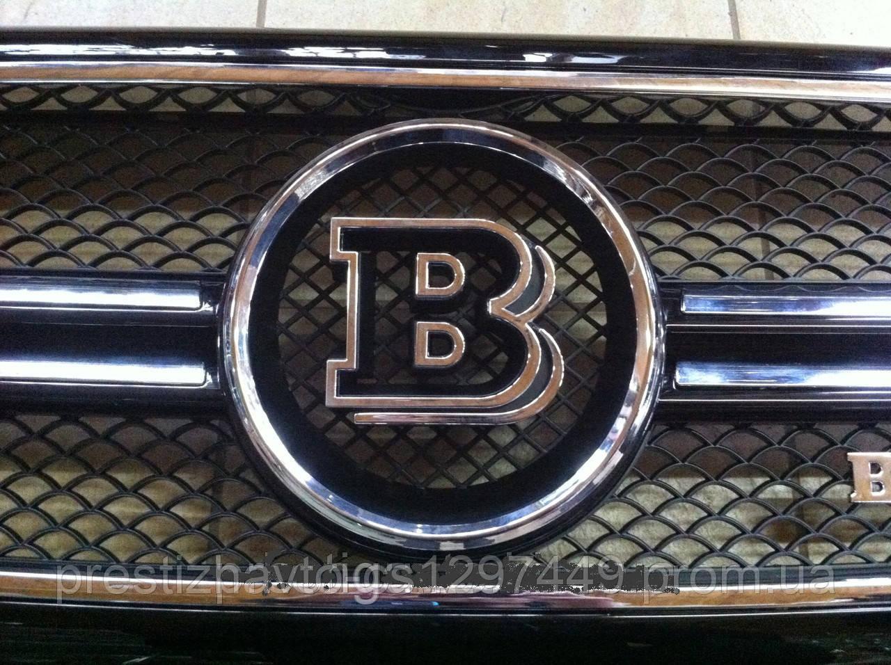 Эмблема решетки радиатора Brabus на Mercedes G-Сlass