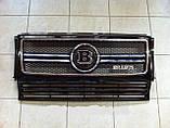 Эмблема решетки радиатора Brabus на Mercedes G-Сlass, фото 6
