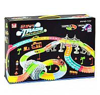 Светящийся гоночный LED трек Magic Track 170235,  273 детали