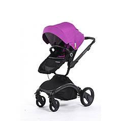 Универсальная коляска 2 в 1 Babysing V-GO  Purple Black