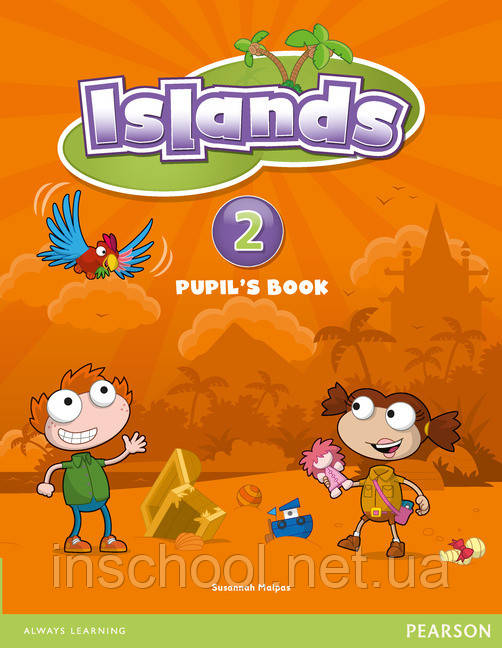Islands Level 2 Pupil's Book plus pin code ISBN: 9781408290170