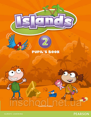 Islands Level 2 Pupil's Book plus pin code ISBN: 9781408290170, фото 2