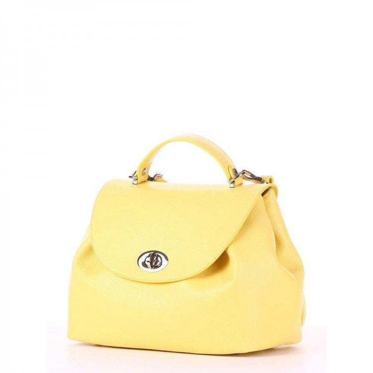 807f59f9f6d2 Впечатляющая желтая женская сумка Alba Soboni арт. 130230 -  Интернет-магазин сумок BagShop.