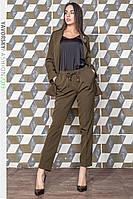 Костюм Yavorsky Скарлетт стильный пиджак с карманами и брюки классика разные цвета Dy1288