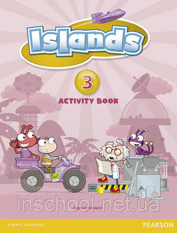 Islands Level 3 Activity Book plus pin code ISBN: 9781408290255, фото 2