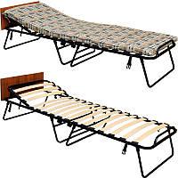 Раскладная кровать с регулируемым подголовником Vista «Лиора РК-70» 198х72х32 см., фото 1