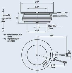 Тиристор Т143-400-20