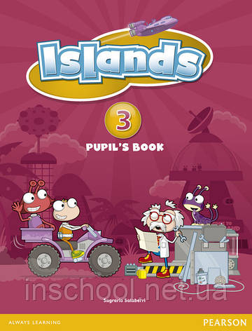 Islands Level 3 Pupil's Book plus pin code ISBN: 9781408290347, фото 2