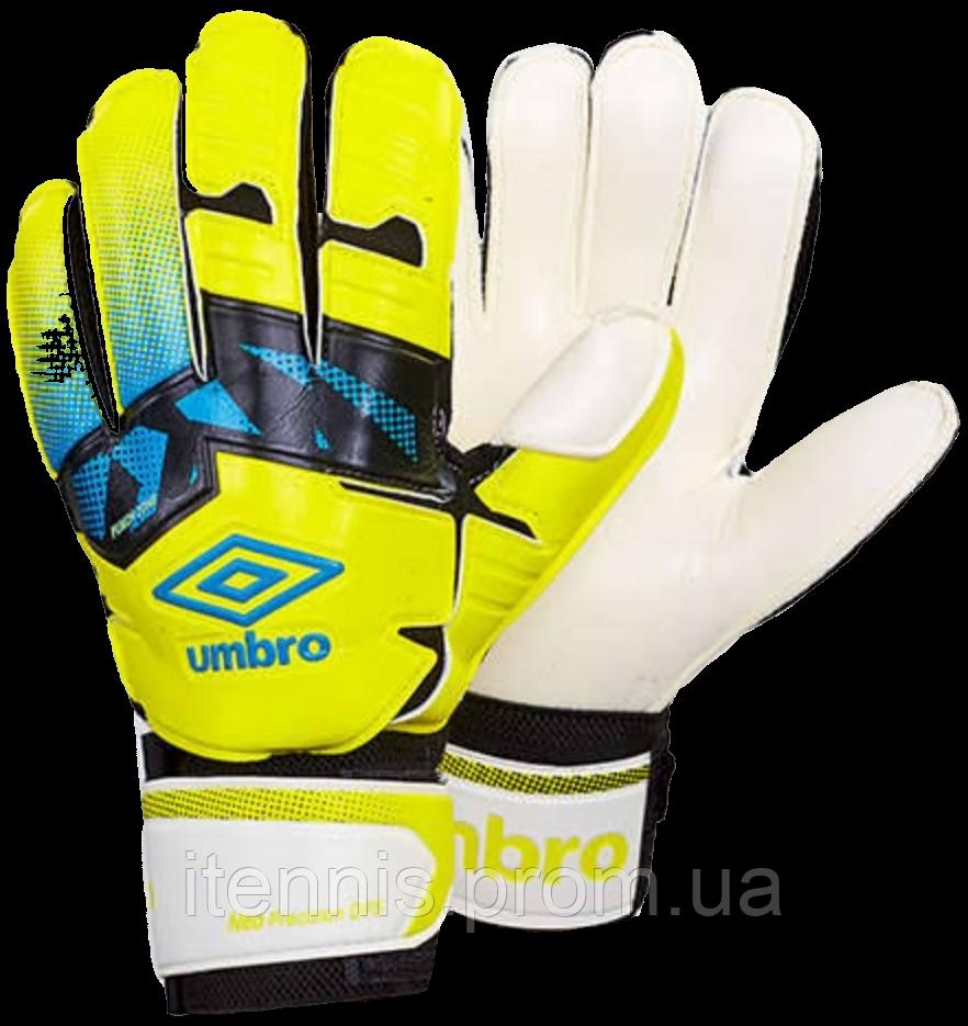 Перчатки вратарские Umbro (p.8,9,10) с защитными вставками.FB-894-1