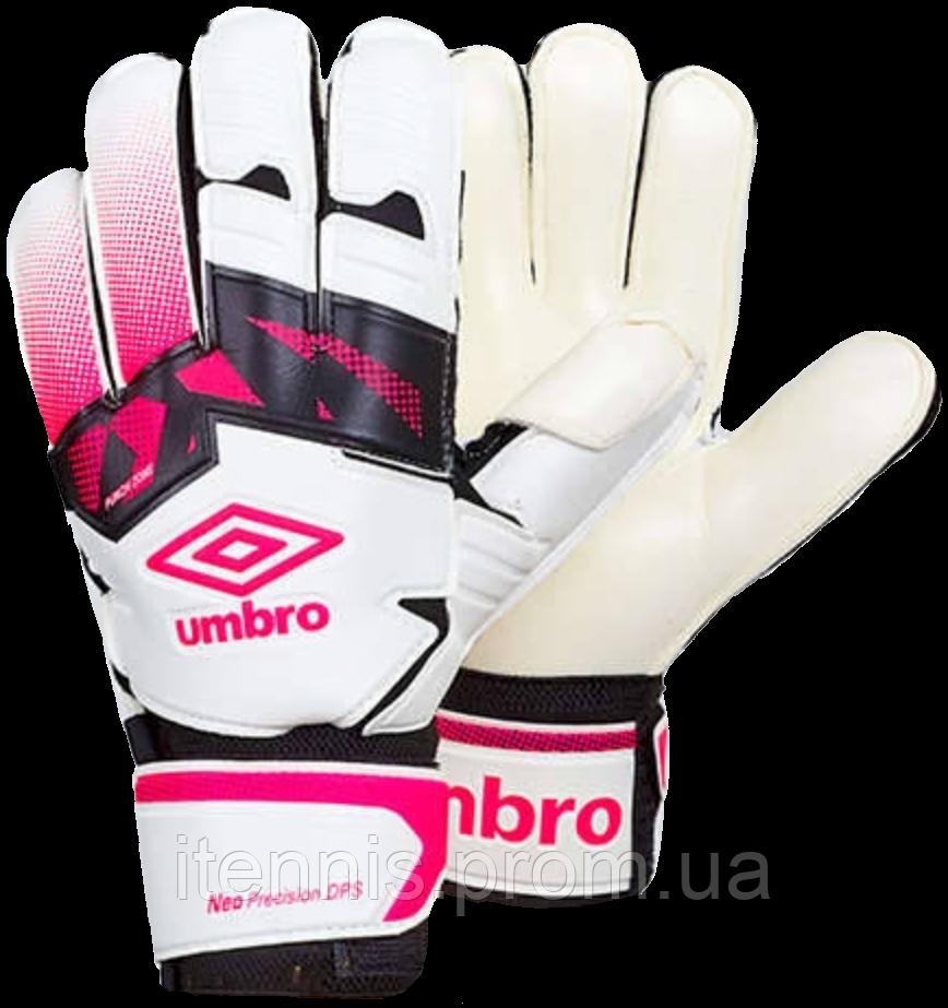 Перчатки вратарские Umbro (p.8,9,10) с защитными вставками.FB-894-2