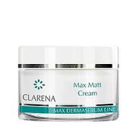 Крем легкий матирующий дневной для жирной и смешанной кожи Clarena Max Matt Cream 50 мл