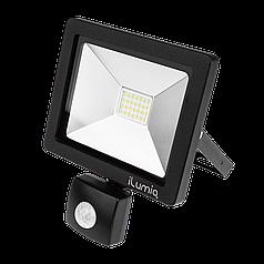 Прожектор с датчиком Ilumia 098 FLS-20-NW 2000Лм, 20Вт, 4000К