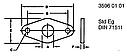 R521158 прокладка John Deere, фото 2