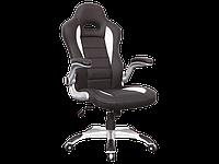 Компьютерное кресло Q-024 Signal черно-белый