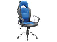 Компьютерное кресло Q-033 Signal черно-синий