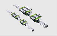 Профильные рельсовые направляющие, шарико-винтовые передачи, линейные модули.
