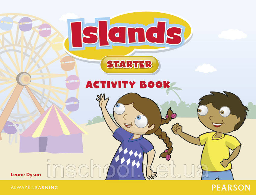 Islands Starter Activity Book plus pin code ISBN: 9781447924654