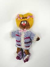 Куколка Эльф рыжий в теплой кофточке
