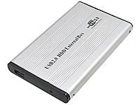 Кейс перехідник з IDE 2.5 в USB 2.0 з світлодіодним індикатором  Сірий