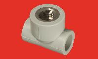 Тройник 25х1/2 с внутренней металлической резьбой FV-PLAST