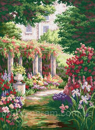 Рисование камнями Тайный сад