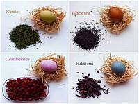 Красивые натуральные красители для пасхальных яиц