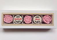 Шоколадные наборы 2 конф. + 3 фигурки на День Валентина.