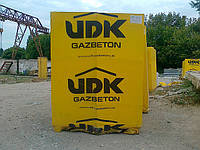 Газобетон, стеновые блоки, УДК (UDK). Газобетон Каховка