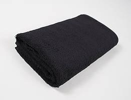 Полотенце махровое отельное lotus 70*140 - черный #S/H