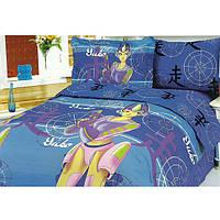 Полуторное постельное белье Сатин Le Velle Princess, фото 1