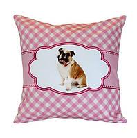 Наволочка barine - pink dog 40*40 #S/H