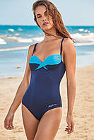 Синий слитный купальник, плотная чашка Miss Marea 19493 46 Синий MissMarea 19493