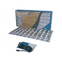 """Монтажные пластины с теплоизолятором для """"сухой"""" установки нагревательного кабеля под паркетную доску DEVIcell"""