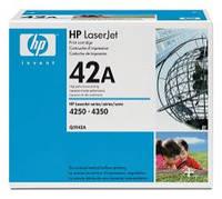Заправка картриджа HP 4250, 4350 (Q5942A) Киев