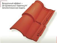 Tejas Borja TB-4 Техас Борха ТБ-4 красный черепица керамическая, фото 1