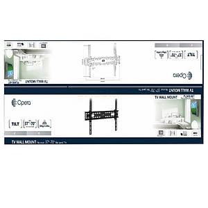 Настенное крепление для телевизора PLN08-46T