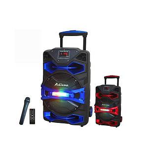 Аккумуляторная акустика AiliangUF-8008AK-DT портативная колонка с микрофоном