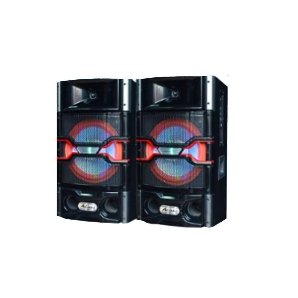 """Активная акустическая система колонки Ailiang USBFM-7011-DT, 150W, 10"""" дюймов, подсветк"""