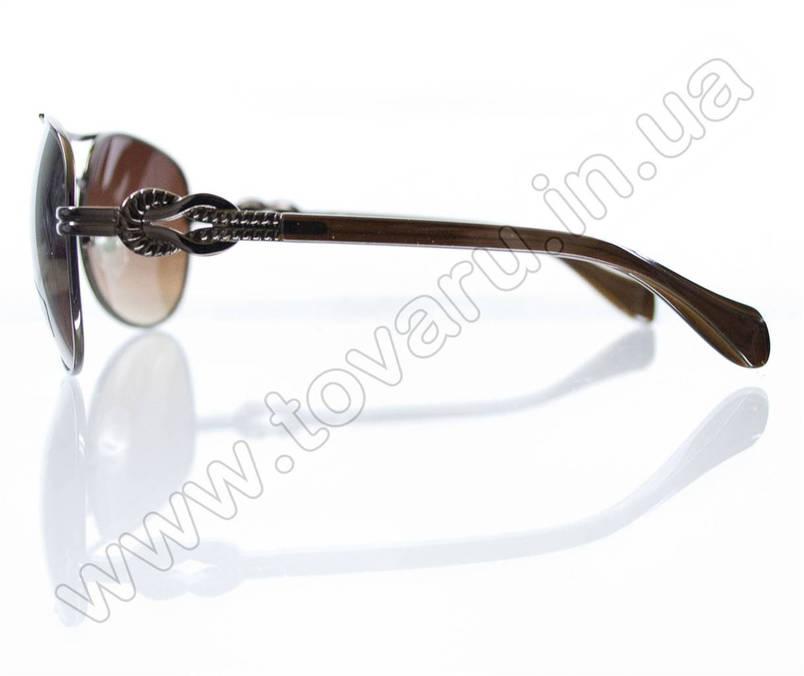 Оптом Очки унисекс солнцезащитные - Коричневые - 3032, фото 2