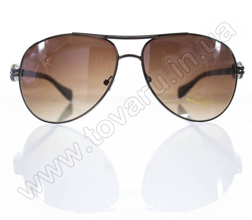 Очки унисекс солнцезащитные - Коричневые - 3032, фото 2
