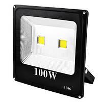 Прожектор SLIM YT-100W 2COB, 9000Lm, IP66 (влагозащита) - 32, премиум-класс