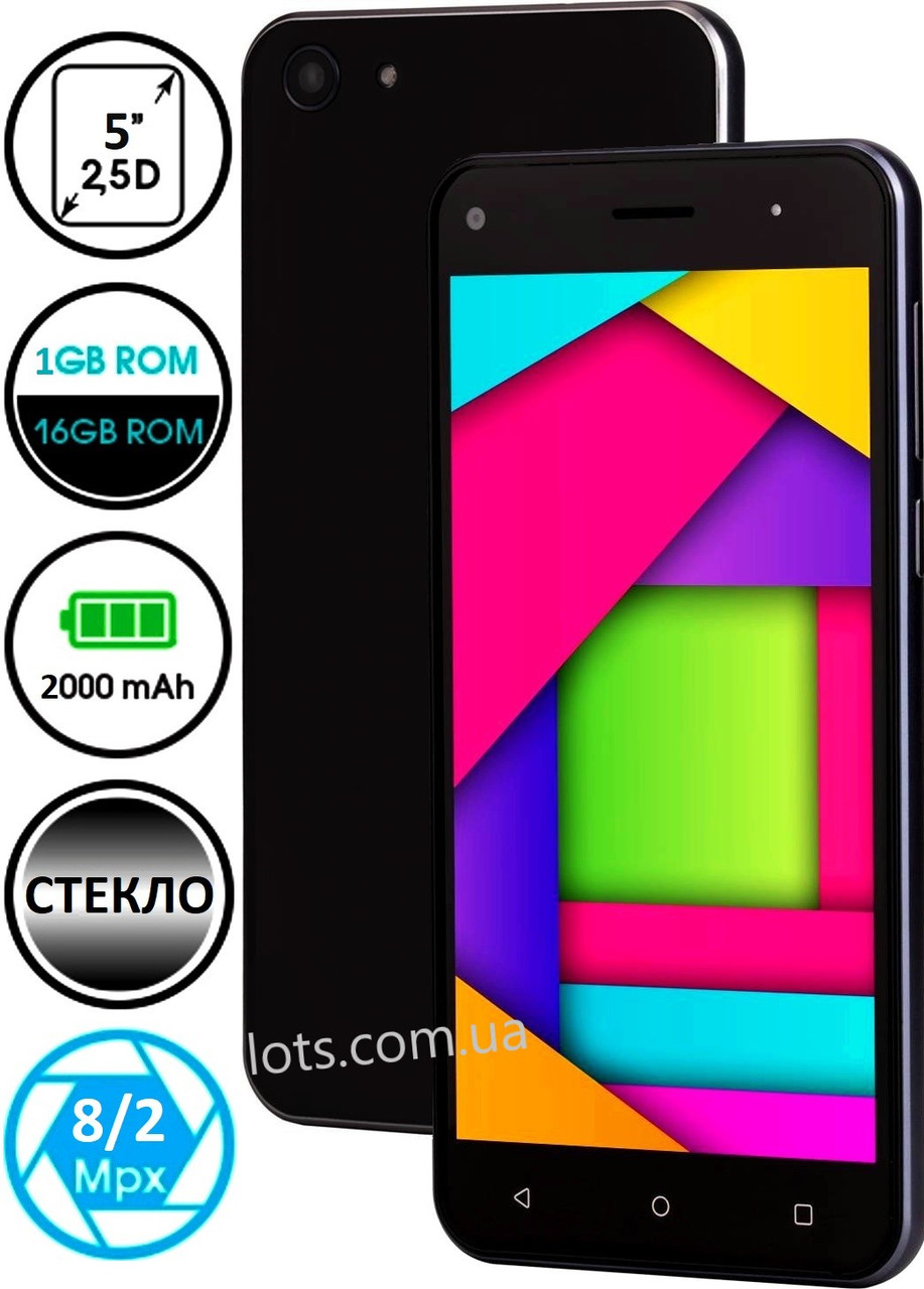 Смартфон Nomi i5030 1/16Gb Black