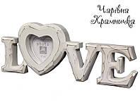 Фоторамка Любовь LOVE