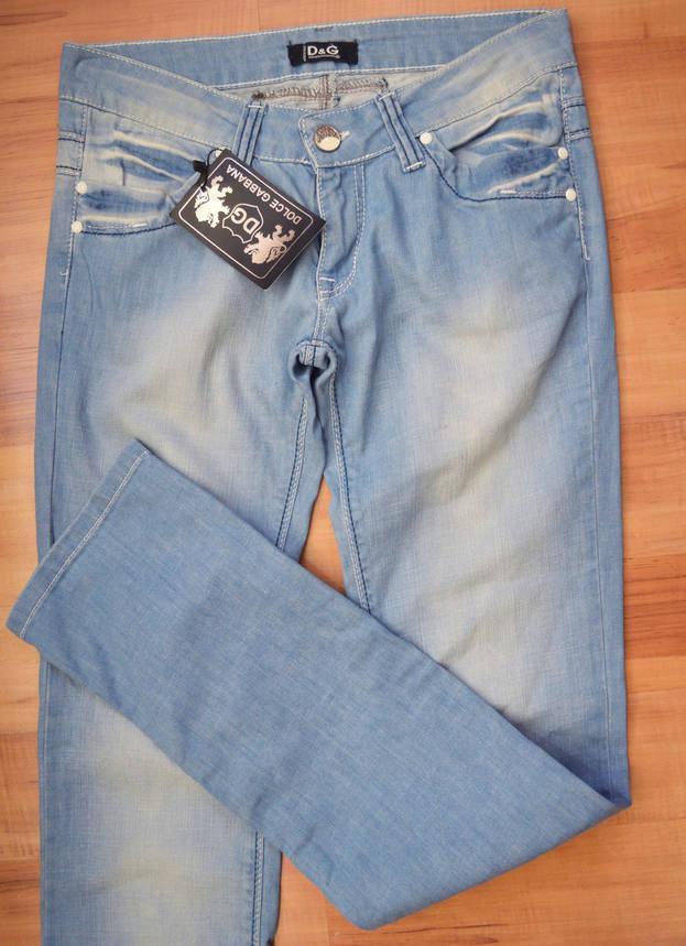 Женские джинсы D&G322 (копия), фото 2