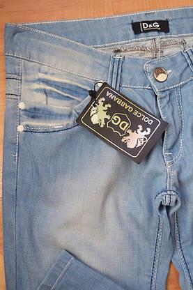 Женские джинсы D&G322 (копия), фото 3