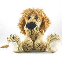 Детская Вязаная игрушка ручной работы Лев Чандр